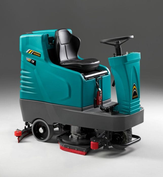 EZY-Rider-75 ride-on scrubber dryer